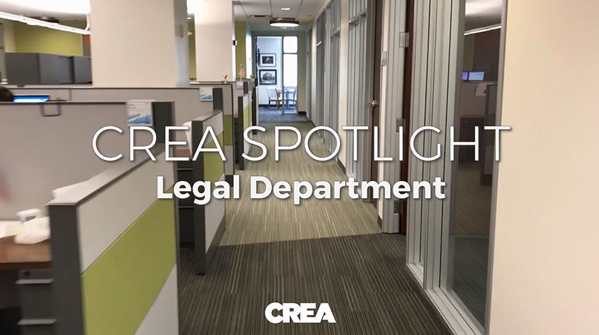 CREA Spotlight: Legal Department