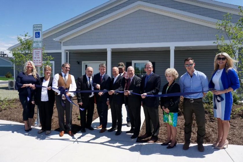 CREA Helps Celebrate Grand Opening of Senior Community