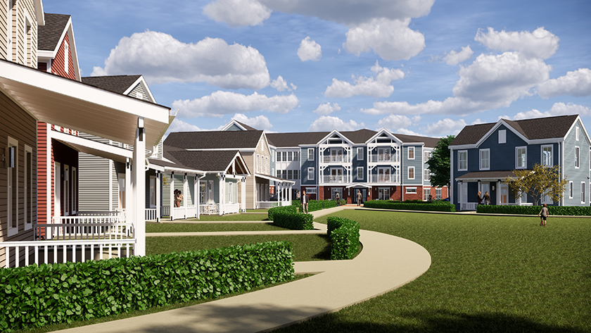 Jeremiah Village to Provide Independent Living within Glade Run Community